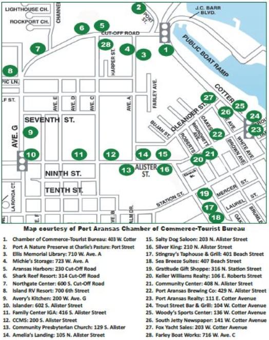 PA Farley Boat Tour Map